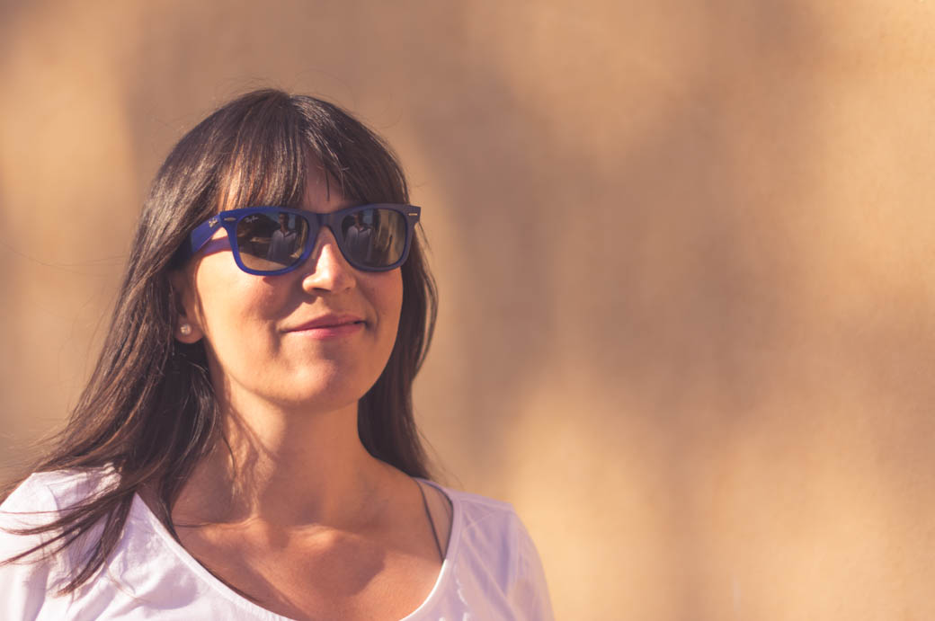 Retrato retrato embarazado con reflejo de padre en gafas-fotógrafos de bodas almería -blow up photo